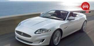Auto Expo 2014 Jaguar XK Exteriors Overall