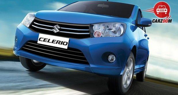 Auto Expo 2014 Maruti Suzuki Celerio Exteriors Front View
