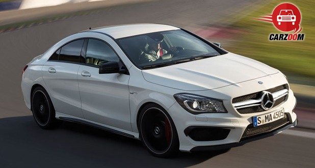 Auto Expo 2014 Mercedes-Benz CLA 45 AMG Exteriors Top View