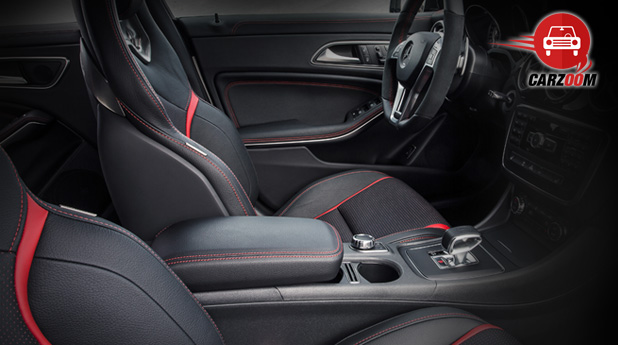Auto Expo 2014 Mercedes-Benz CLA 45 AMG Interiors Seats