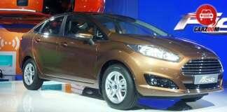 Auto Expo 2014 New Ford Fiesta
