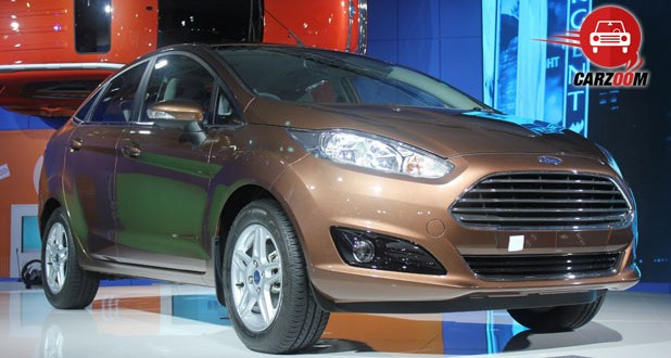 Auto Expo 2014 New Ford Fiesta Exteriors Overall