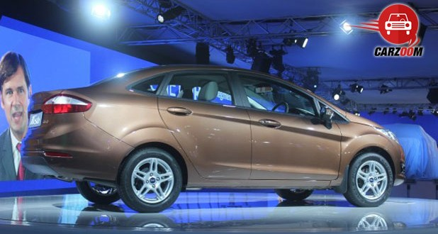 Auto Expo 2014 New Ford Fiesta Exteriors Side View