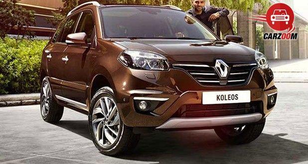 Auto Expo 2014 New Renault Koleos Exteriors Front View