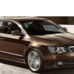Auto Expo 2014 New SKODA Superb