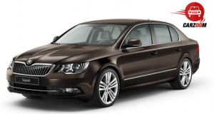 Auto Expo 2014 New SKODA Superb Exteriors Overall
