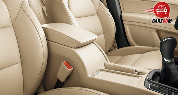 Auto Expo 2014 New SKODA Superb Interiors Seats
