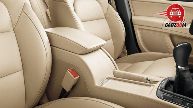 Auto Expo 2014 New SKODA Superb Interiors Seats