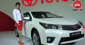 Auto Expo 2014 New Toyota Corolla Altis