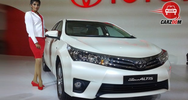 Auto Expo 2014 New Toyota Corolla Altis Exteriors Overall