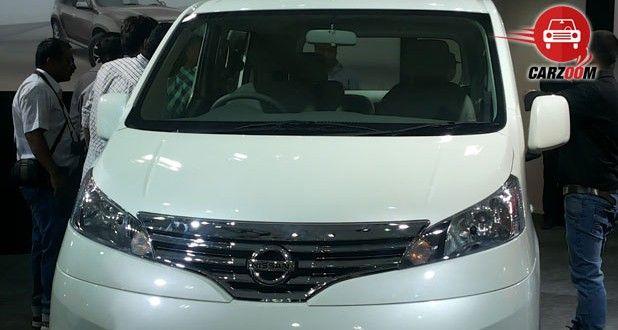 Nissan Evalia Facelift Exteriors Front View