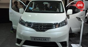 Nissan Evalia Facelift Exteriors Overall