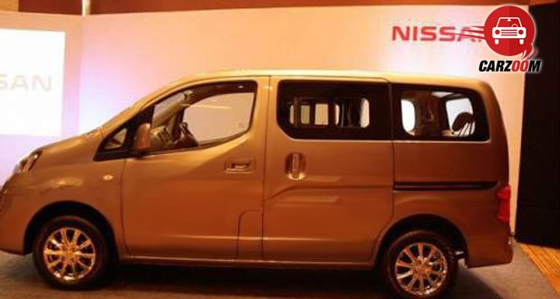 Nissan Evalia Facelift Exteriors Side View