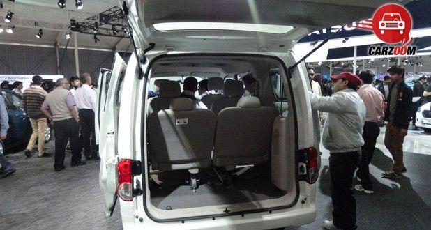 Nissan Evalia Facelift Interiors Bootspace