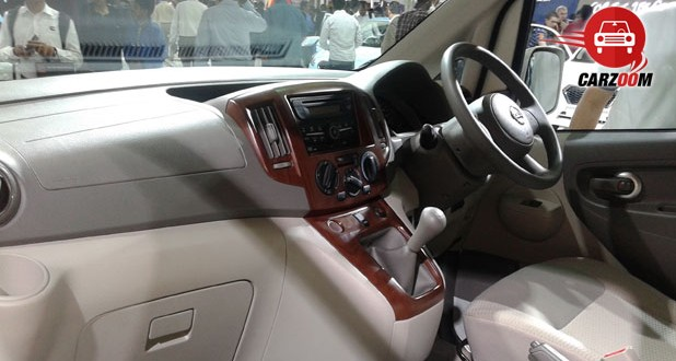 Nissan Evalia Facelift Interiors Dashboard