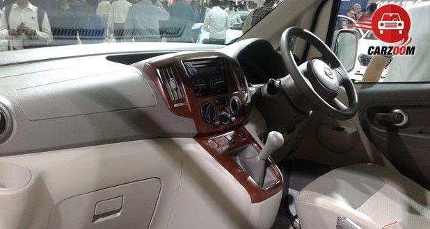 Nissan Evalia Facelift Interiors Dashboard