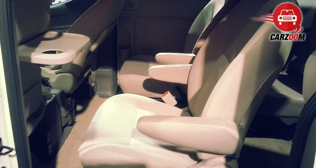 Nissan Evalia Facelift Interiors Seats
