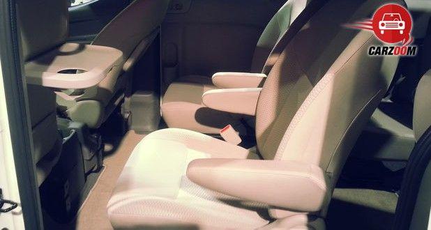 Nissan Evalia Facelift Interiors Seats
