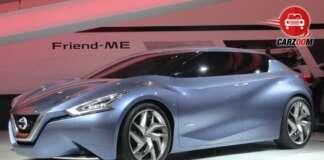 Auto Expo 2014 Nissan Friend-Me Concept Car