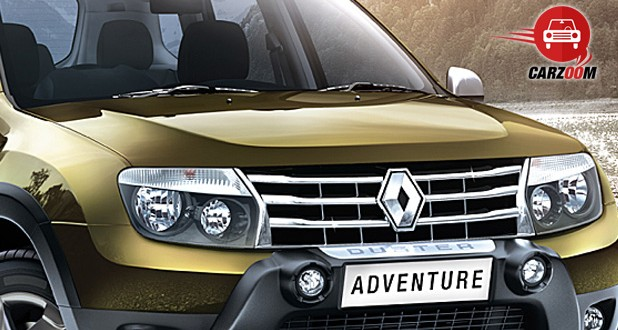 Auto Expo 2014 Renault Duster Adventure Exteriors Front View