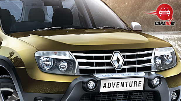 Renault Duster Adventure Exteriors Front View