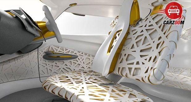 Auto Expo 2014 Renault KWID concept Interiors Seats