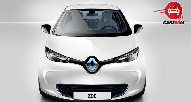 Auto Expo 2014 Renault ZOE Exteriors Front View