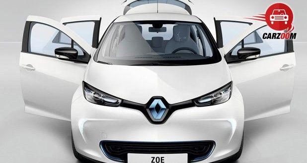 Auto Expo 2014 Renault ZOE Exteriors Top View
