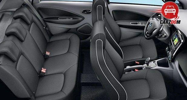 Auto Expo 2014 Renault ZOE Interiors Seats