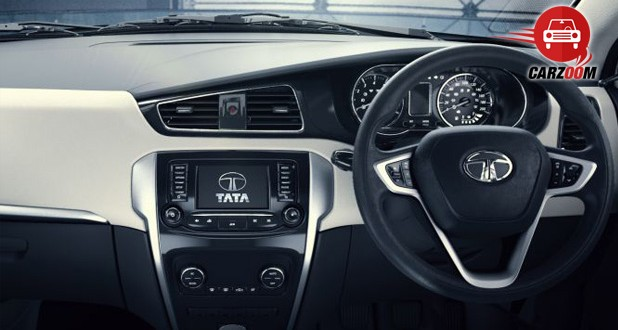 Auto Expo 2014 Tata Bolt Interiors Dashboard