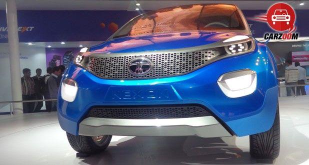 Auto Expo 2014 Tata Nexon Concept Exteriors Front View