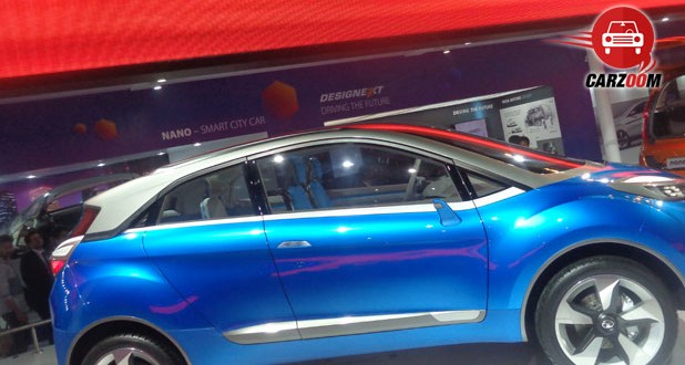 Auto Expo 2014 Tata Nexon Concept Exteriors Side View