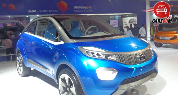Auto Expo 2014 Tata Nexon Concept Exteriors Top View