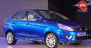 Auto Expo 2014 Tata Zest Exteriors Overall
