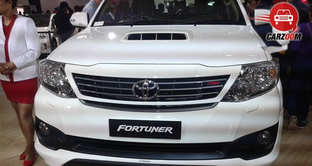Auto Expo 2014 Toyota Fortuner facelift Exteriors Front View
