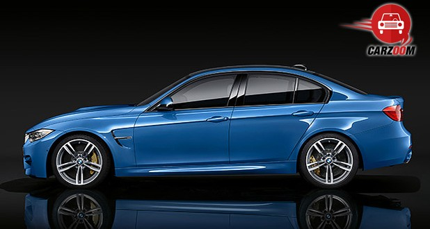 BMW M3 Exteriors Side View