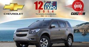 Auto Expo News & Updates - Chevrolet to Showcase Chevrolet Trailblazer