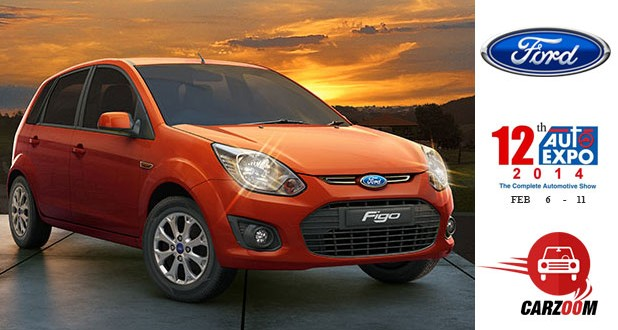Auto Expo News & Updates - Ford to Showcase Ford Figo Facelift