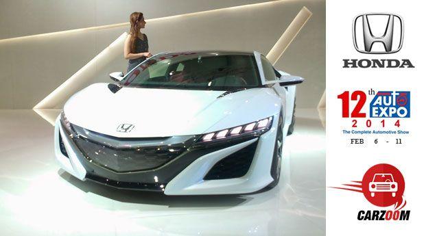Auto Expo News & Updates - Honda to Showcase Honda NSX Concept
