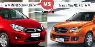 Maruti Suzuki Celerio vs Maruti Suzuki New Alto-K10