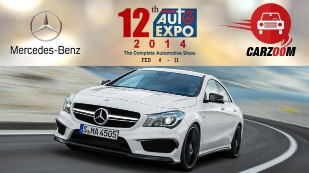 Mercedes-Benz to showcase Mercedes-Benz CLA 45 AMG