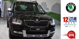 Skoda showcased New Yeti at Auto Expo 2014