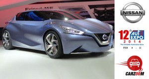 Auto Expo News & Updates - Nissan to Showcase Nissan Friend-Me Concept
