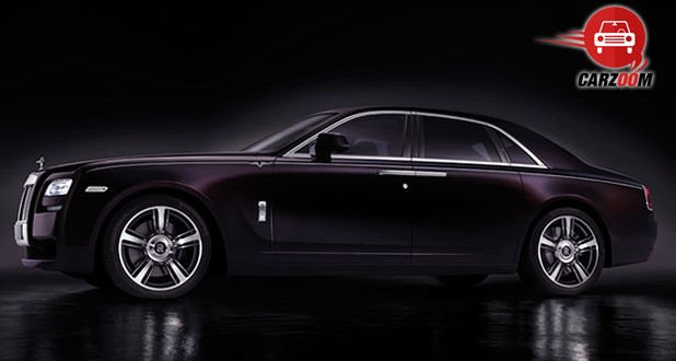Rolls-Royce Ghost V-Specification Exteriors Side View
