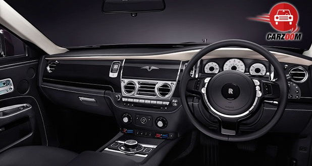 Rolls-Royce Ghost V-Specification Interiors Dashboard