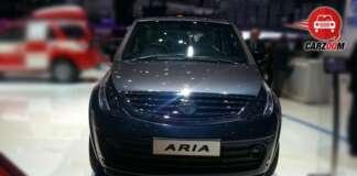 Auto Expo 2014 - Tata Aria Facelift