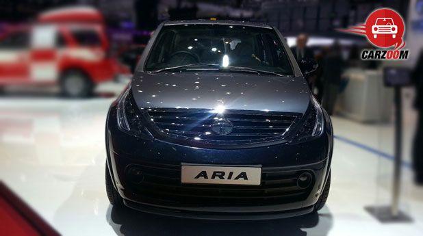 Tata Aria Front View Exteriors