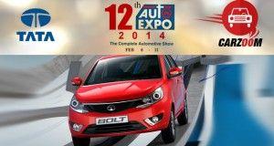 Auto Expo 2014 Tata Bolt