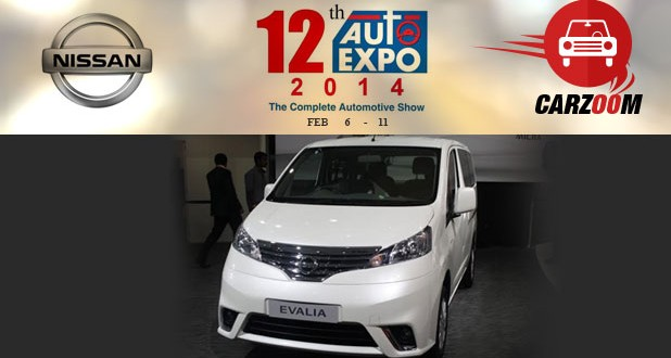 Auto Expo News & Updates - Nissan to Showcase Nissan Evalia Facelift