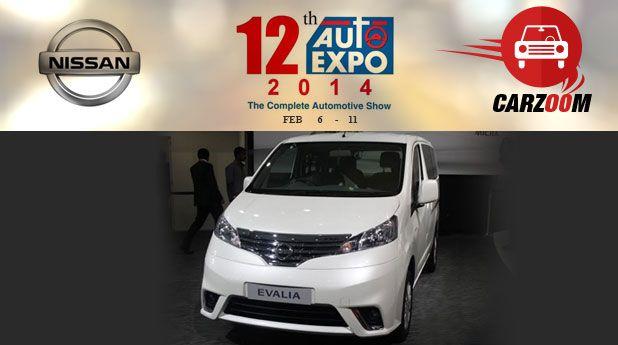 Auto Expo News & Updates - Nissan to Showcase Nissan Evalia Facelift